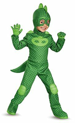 Disguise Disney Junior PJ Masks Gekko Deluxe Toddler Halloween Costume 17166