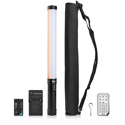 Opteka VL600 Bright LED Light Pro Portable Studio Handheld Filler Lighting Wand