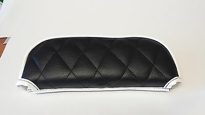 ajs modena/milano Slipover Back Rest Pad Diamond Padded