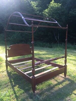 Antique Canopy Bed - Pre 1950s, Very Nice!!!