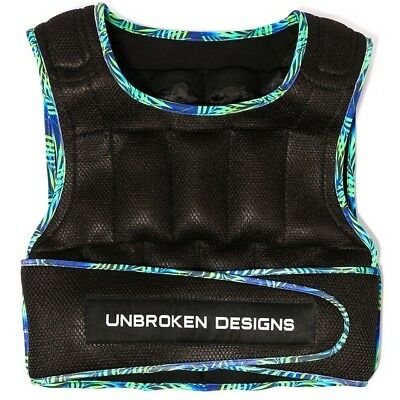 Paradise City 30 lbs Weight Vest Unbroken Designs Crossfit Fitness WOD