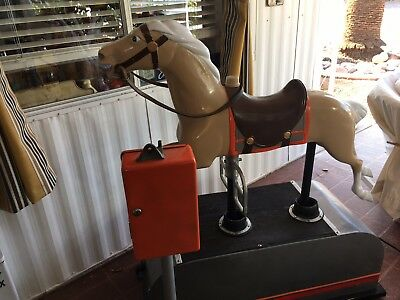 1940's Coin-operated Kiddie Ride, Galloping Horse