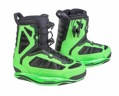 2016 Ronix Parks Boot Lime Size 10 Wakeboard Binding