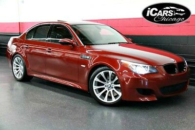 2007 BMW M5 Base Sedan 4-Door 2007 BMW M5 2-Owner 51,398 Miles Navi Comfort Access Merino Leather Serviced WoW