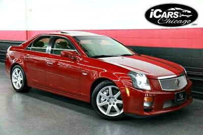 2005 Cadillac CTS V Sedan 4-Door 2005 Cadillac CTS-V 2-Owner Navigation New Tires Only 43,656 Miles Serviced WoW!