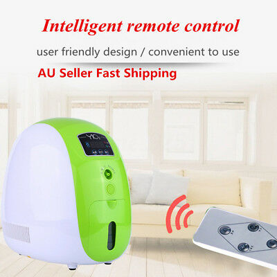 AU 1-5L/min Portable Full Intelligent Home Oxygen Concentrator Generator Machine