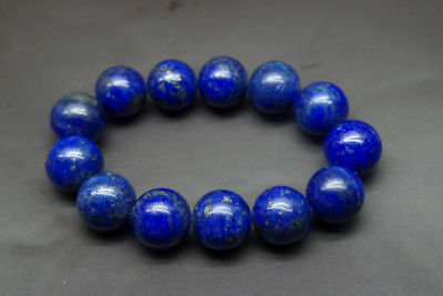 Chinese natural blue Lapis lazuli beads jade bracelets bangle FREE SHIPPING