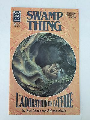 Swamp Thing #76 (Sep 1988, DC)