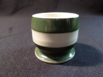 Cornishware. T G Green. Egg Cup. Green. Made In England.