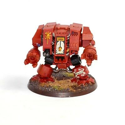 Warhammer 40K Blood Angels Space Marines Furioso Dreadnought - Painted, Based