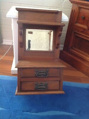 antique drawers with mirror. from dressing table