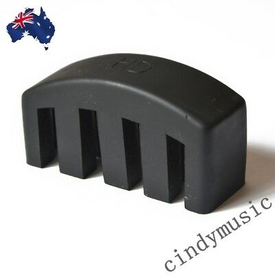 High Quality Heavy Rubber Cello Practice Mute Rubber Mute BLACK