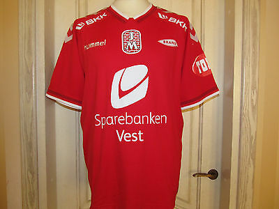 2014 SK Brann Norwegen Fußball Trikot Norway Football Shirt Hummel XXL Wie NEU