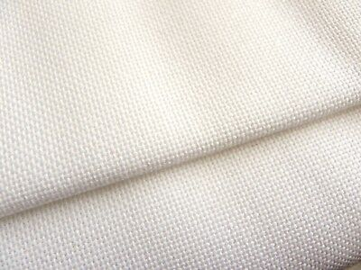 Antique White 25 count Zweigart Lugana evenweave fabric 50 x 68 cm