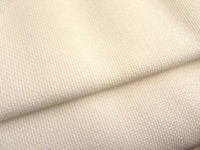 Ivory / Cream 25 count Zweigart Lugana evenweave fabric 50 x 70 cm