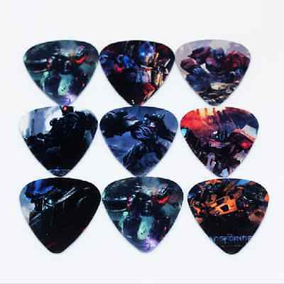 Transformers Bumblebee Prime Guitar Picks Lot of 10 .71 mm Free Tracking New