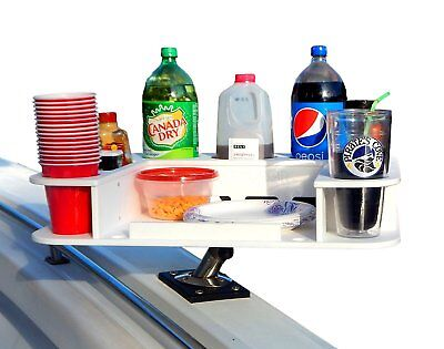 Docktail Butler Food and Beverage Caddy Plus Magma Levelock All-angle Adjustable