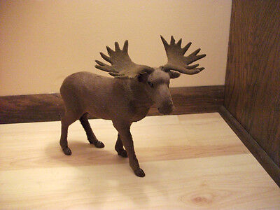 REALISTIC MOOSE REPLICA Fake Fur Taxidermy Animal ms980A FREE SHIPPING USA