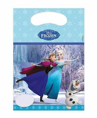 Disney Frozen 6 Party Bags Gift Bags Birthday Bags Bags the Ice Queen