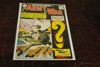 Our Army at War #131 GDVG 1st Enemy Ace KEY Book DC Comics