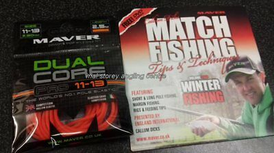 Maver Dual Core pro 11 - 13 Elastic + New Match Fishing Winter Fishing Volume 2