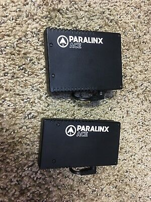 Paralinx Ace HDMI System 1x Transmitter and 2x Receiver W/canon battery adapter