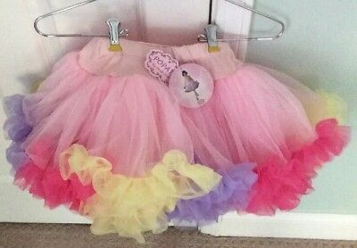 Adorable Multicolored Dress Up Crinoline TuTu NWT Size M POPATU By POSH INT'L
