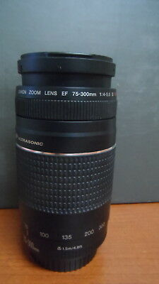 Canon Zoom LENS EF 75-300mm 1:4-5.6 II