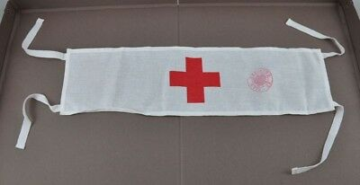 Red Cross Emergency Firs Aid Brassard Medic Armband Army Surplus Docto