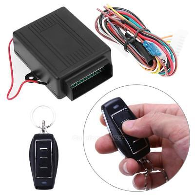 Universal Car Door Lock Keyless Entry System Auto Remote Central Kit Control Box