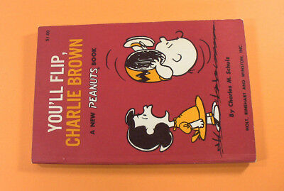 You'll Flip, Charlie Brown (Charles M. Schulz, 1967) First Edition, Peanuts