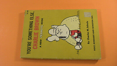 You're Sometiong Else, Charlie Brown (Charles M. Schulz, 1967) First Edition