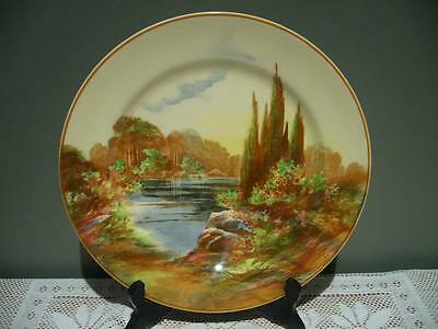 Vintage Royal Doulton 'woodley Dale' Rack Plate - 25.8Cm - Small Chip To Back