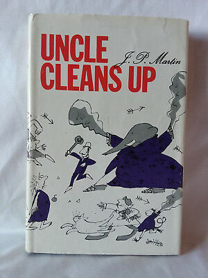 J.P. Martin UNCLE CLEANS UP 1967 1st American edition HB DJ