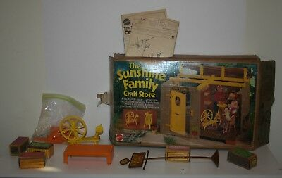 The Sunshine Family Craft Store Mattel 9266 1970's