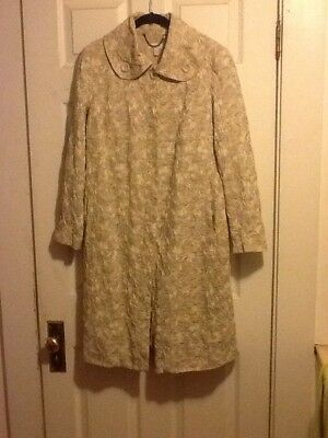 A Pea In The Pod Lightweight Maternity Coat, Size S/M, USA-made, Lined