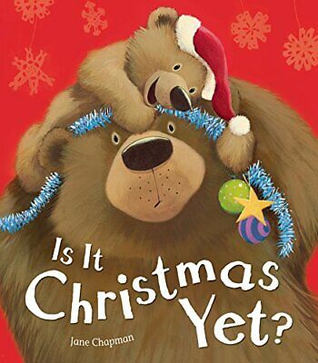 Is It Christmas Yet? by Chapman, Jane Book The Cheap Fast Free Post