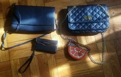 Designer Purse lot (Rebecca Minkoff, Coach, Express, H&M)