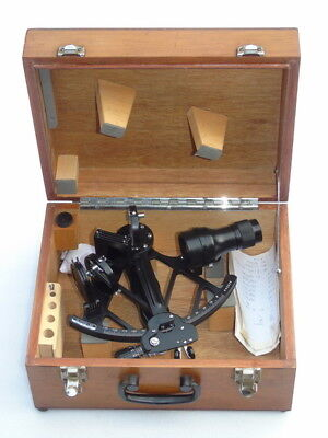 Mint Celestaire Glh 130-40 Ships Marine Sextant Nr.440020 With Papers & Box
