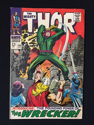 Thor 148 FN 1st appearance of The Wrecker