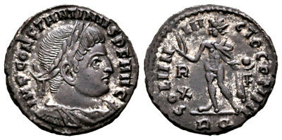 CONSTANTINE THE GREAT (314 AD) Follis. Rome #MA 9059