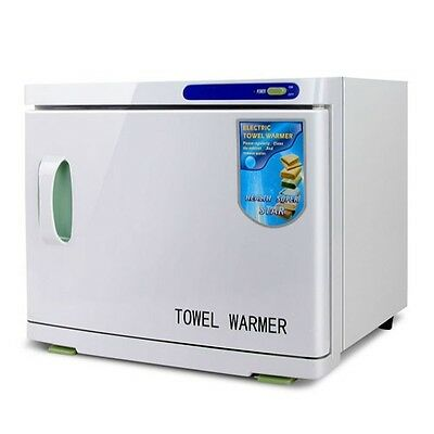 3 in 1 Towel Warmer Heater Sterilizer Unit UV Hot Towels Hotel Salon Nursery 23L