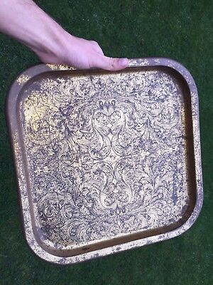 BARGAIN: Antique Metal Tray