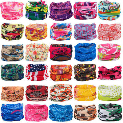 Multifunction Outdoor Sport Magic Cycling Bicycle Scarf Headband Face Neck Mask