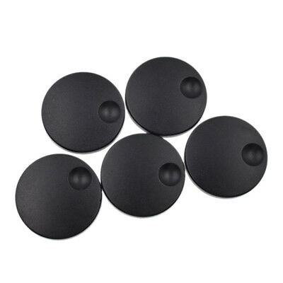 5x Encoder Caps Round Plastic Knobs Coding Shafts Axle Shaft Rotary Accessories