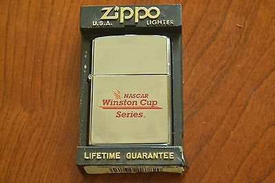 ZIPPO Lighter, Winston Cup Series Eagle, X/1994, Polished Chrome, Unfired, M1288