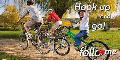 FollowMe Tandem - Tow your child on their own bike like Trail Gator but better