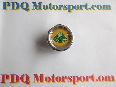 Lotus Elise Exige Alloy K Series Engine Oil Filler Cap & Seal New Yellow Logo