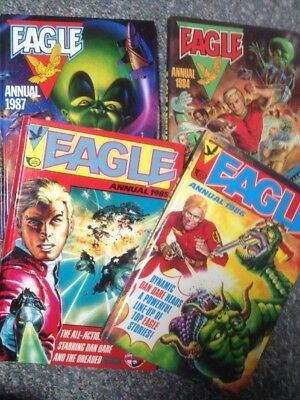 Eagle Annuals 1984 1985 1986 1987 Job Lot Bundle