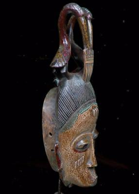 Old Tribal Guro Mask       --- Coted'Ivoire  BN (U)